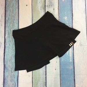 Adidas Women's Black  3 Stripe Golf Skort S